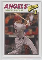 1977 Topps Baseball Design - Mike Trout /1502