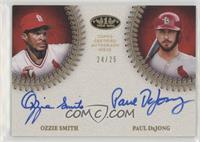 Paul DeJong, Ozzie Smith #24/25