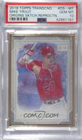 Mike Trout /83 [PSA 10 GEM MT]