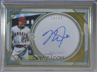 2018 Topps Transcendent - Transcendent Collection Autographs - Horizontal #TCA-MT - Mike Trout /25
