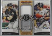 Marcell Ozuna, Giancarlo Stanton [Noted] #/150
