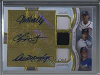 John Smoltz, Chipper Jones, Dale Murphy #/27