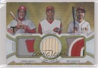 Joey Votto, Barry Larkin, Johnny Bench /9