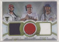 Bryce Harper, Mike Trout, Kris Bryant /27