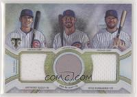 Anthony Rizzo, Kris Bryant, Kyle Schwarber /36