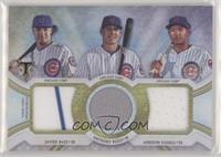 Javier Baez, Anthony Rizzo, Addison Russell #/36