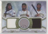 Josh Bell, Gregory Polanco, Starling Marte /36