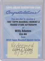 Willy Adames [BeingRedeemed]