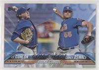 Rookie Combos - P.J. Conlon, Corey Oswalt #/50
