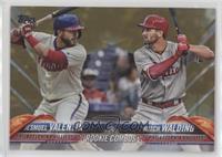 Rookie Combos - Jesmuel Valentin, Mitch Walding /2018