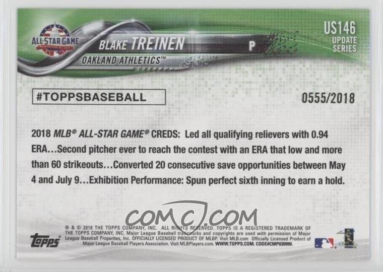 2018 Topps Update Series - [Base] - Gold #US146 - All-Star