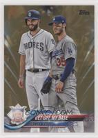 Get Off My Base (Eric Hosmer & Cody Bellinger) #/2,018