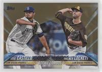 Rookie Combos - Jose Castillo, Walker Lockett /2018