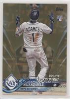 Rookie Debut - Willy Adames #/2,018