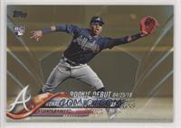 Rookie Debut - Ronald Acuna #/2,018