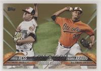 Rookie Combos - David Hess, Pedro Araujo #/2,018