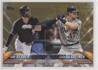 Rookie Combos - Mike Gerber, Grayson Greiner /2018