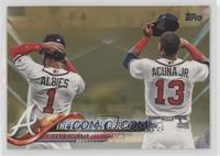 The Future is Bright (Albies & Acuna Jr.) #/2,018