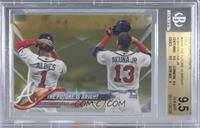 The Future is Bright (Albies & Acuna Jr.) [BGS 9.5 GEM MINT] #/2…