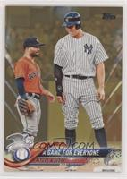 A Game For Everyone (Altuve & Judge) #/2,018