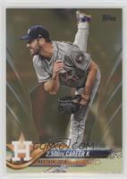 Checklist - 2,500th Career K (Justin Verlander) /2018