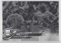 Philly Fives (Scott Kingery & Rhys Hoskins)
