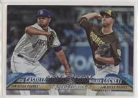 Rookie Combos - Jose Castillo, Walker Lockett
