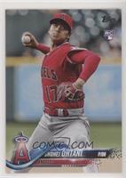 Base - Shohei Ohtani (Pitching, Red Jersey) [EXtoNM]