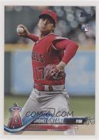 Shohei Ohtani (Pitching, Red Jersey)