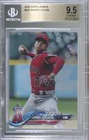 Shohei Ohtani (Pitching, Red Jersey) [BGS 9.5 GEM MINT]