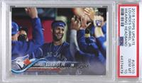 SP Variation - Lourdes Gurriel Jr. (In Dugout) [PSA 10 GEM MT]