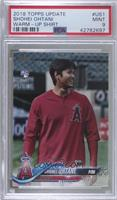 SP Variation - Shohei Ohtani (Red Warmup Jersey) [PSA 9 MINT]