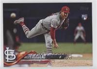 Base - Miles Mikolas (Pitching, Jersey Number Hidden)
