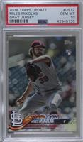 SSP Variation - Miles Mikolas (Pitching, Jersey Number Visible) [PSA 10&nb…