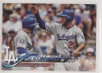 Matt Kemp (Greeting Teammate)