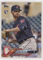 Shane Bieber (Sleeve Patch Visible)