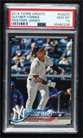 Gleyber Torres (Batting, Pinstriped Jersey) [PSA 10 GEM MT]