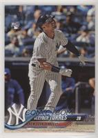 Gleyber Torres (Batting, Pinstriped Jersey)