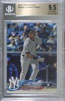 Gleyber Torres (Batting, Pinstriped Jersey) [BGS 9.5 GEM MINT]