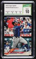 Ronald Acuna (Vertical, Blue Jersey) [CSG10PERFECT]