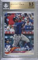 Ronald Acuna (Vertical, Blue Jersey) [BGS 9.5 GEM MINT]