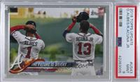 The Future is Bright (Albies & Acuna Jr.) [PSA9MINT]
