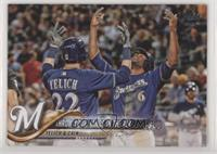 Throw Your Hands In The Air (Christian Yelich & Lorenzo Cain)