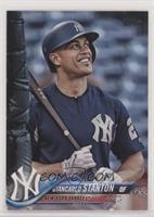 SP Variation - Giancarlo Stanton (Blue Warmup Jersey) [EX to NM]