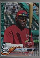 SP Variation - Marcell Ozuna (Red Warmup Jersey) [Noted]