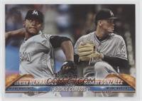 Rookie Combos - Elieser Hernandez, Merandy Gonzalez