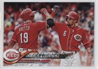 Thunder & Lightning (Joey Votto & Billy Hamilton)