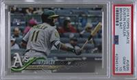 SSP Variation - Dustin Fowler (Horizontal, Batting) [PSA 10 GEM …