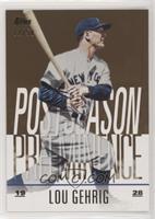 Lou Gehrig #22/50