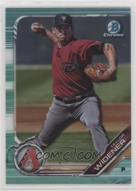 2019 Bowman - Chrome Prospects - Aqua Refractor #BCP-9 - Taylor Widener /125